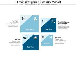 Threat Intelligence Security Market Ppt Presentation Infographics Picture Cpb