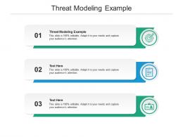 Threat Modeling Example Ppt Powerpoint Presentation Infographic Template Information Cpb