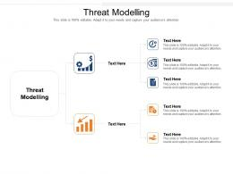 Threat Modelling Ppt Powerpoint Presentation File Guide Cpb