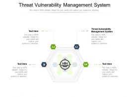 Threat Vulnerability Management System Ppt Powerpoint Presentation Images Cpb