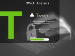 Threats Powerpoint Slides Templates