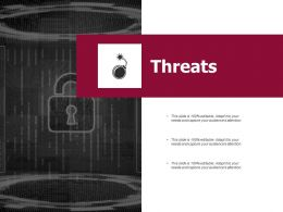 Threats Security Ppt Powerpoint Presentation Infographics Slides