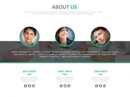 three_about_us_profiles_for_business_employees_powerpoint_slides_Slide01