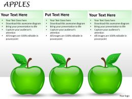 Three Apples ppt 22