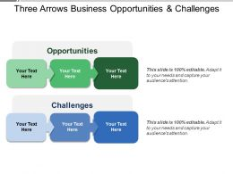 Three Arrows Business Opportunities And Challenges
