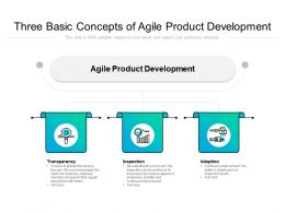 Three Basic Concepts Of Agile Product Development