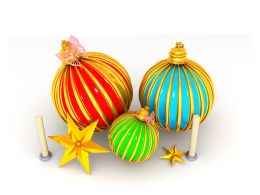 three_beautiful_decorative_balls_with_star_and_candles_for_christmas_stock_photo_Slide01
