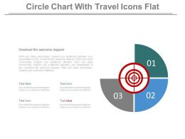 Three Circle For Taregt Analysis Diagram Powerpoint Slides