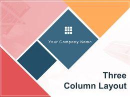 Three Column Layout Content Widget Primary Secondary Desktop Tie
