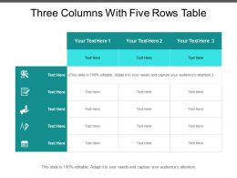 three_columns_with_five_rows_table_Slide01