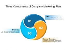 Three Components Of Company Marketing Plan