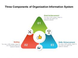 Three Components Of Organization Information System