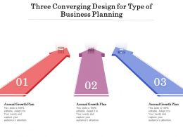 Three Converging Design For Type Of Business Planning