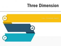 Three Dimension Analyzing Business Product Business Strategy Planning