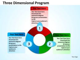 Three Dimensional Program 9
