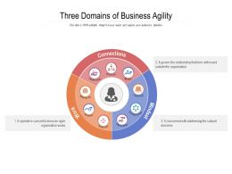 Three Domains Of Business Agility