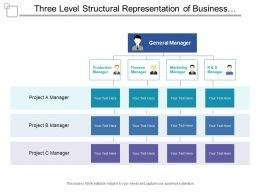 Three Level Structural Representation Of Business Taxonomy Covering Different Depatments