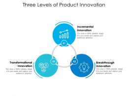 Three Levels Of Product Innovation