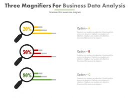three_magnifiers_for_business_data_analysis_powerpoint_slides_Slide01