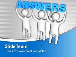 Three Men Join Forces To Lift Words Answers Powerpoint Templates Ppt Themes And Graphics 0213