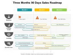 Three Months 90 Days Sales Roadmap