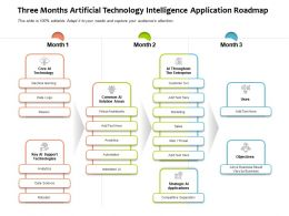 Three Months Artificial Technology Intelligence Application Roadmap