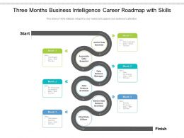 Three Months Business Intelligence Career Roadmap With Skills