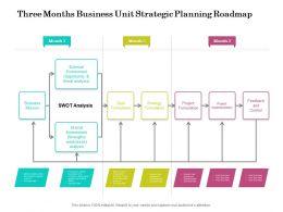 Three Months Business Unit Strategic Planning Roadmap