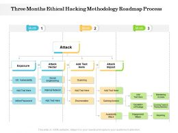 Three Months Ethical Hacking Methodology Roadmap Process