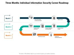 Three Months Individual Information Security Career Roadmap