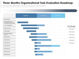 Three Months Organizational Task Evaluation Roadmap