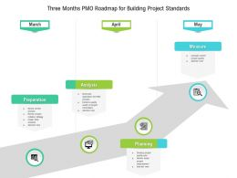 Three Months PMO Roadmap For Building Project Standards