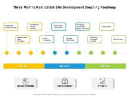 Three Months Real Estate Site Development Coaching Roadmap