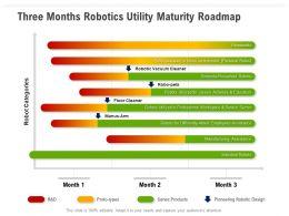 Three Months Robotics Utility Maturity Roadmap