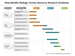 Three Months Strategic Human Resource Research Roadmap