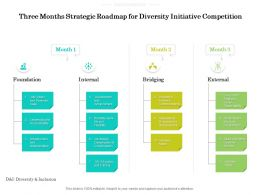 Three Months Strategic Roadmap For Diversity Initiative Competition