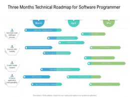Three Months Technical Roadmap For Software Programmer