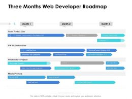 Three Months Web Developer Roadmap