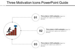 Three Motivation Icons Powerpoint Guide