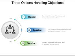 Three Options Handling Objections