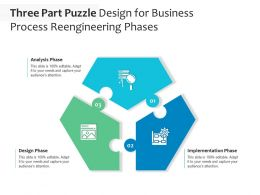 Three Part Puzzle Design For Business Process Reengineering Phases