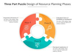 Three Part Puzzle Design Of Resource Planning Phases