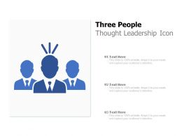 Three People Thought Leadership Icon