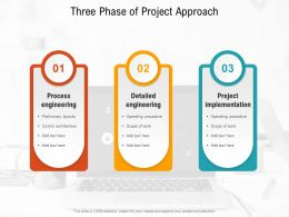Three Phase Of Project Approach