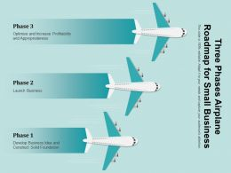 Three Phases Airplane Roadmap For Small Business