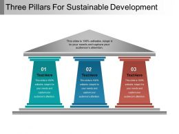 three_pillars_for_sustainable_development_powerpoint_guide_Slide01