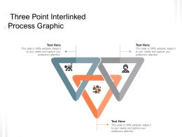 Three Point Interlinked Process Graphic