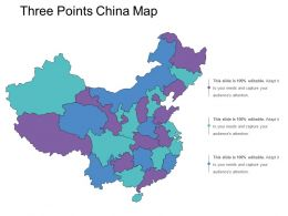 Three Points China Map