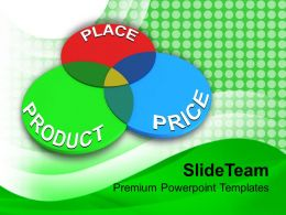 Three Principles Of Marketing Place Product Price Powerpoint Templates Ppt Themes And Graphics 0113