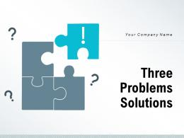 Three Problems Solutions Experience Management Business Strength Promotion